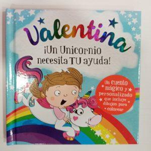 """Cuento Personalizado """"Valentina"""""""