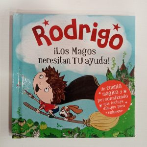 """Cuento Personalizado """"Rodrigo"""""""