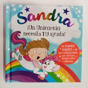 """Cuento Personalizado """"Sandra"""""""