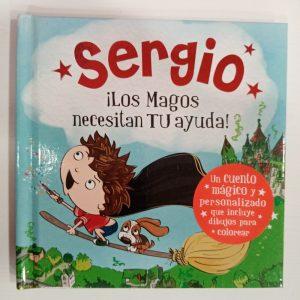 """Cuento Personalizado """"Sergio"""""""